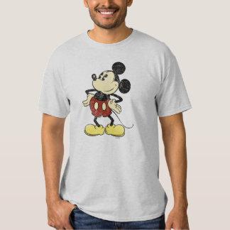 Manos clásicas del vintage de Mickey el | en Camisas