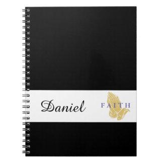 Manos conocidas de encargo del cuaderno del rezo