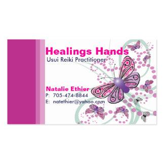 Manos curativas - negocio Card5 Plantilla De Tarjeta De Visita