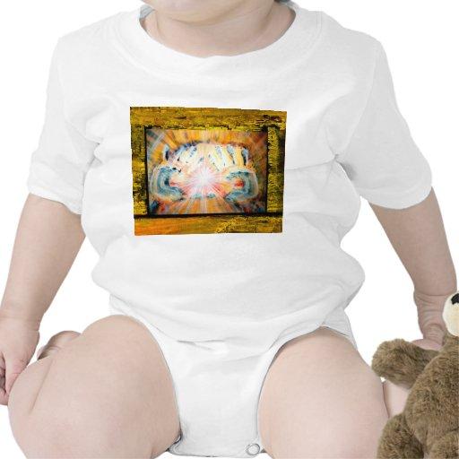 Manos curativas trajes de bebé