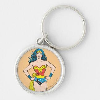 Manos de la Mujer Maravilla en caderas Llavero Personalizado
