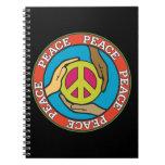 Manos de la paz libros de apuntes