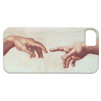 Manos de Miguel Ángel iPhone 5 Funda