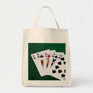 Manos de póker - derecho - as a diez