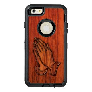 Manos de rogación funda otterbox para iPhone 6/6s plus