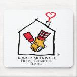 Manos de Ronald McDonald Alfombrillas De Raton