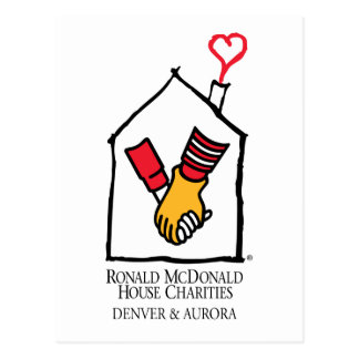 Manos de Ronald McDonald Postal