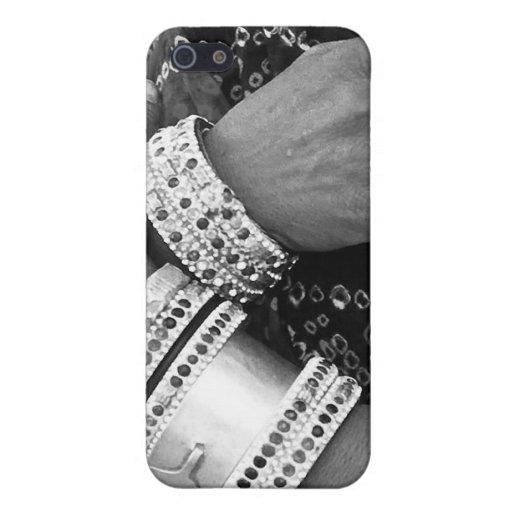Manos de trabajo iPhone 5 cobertura