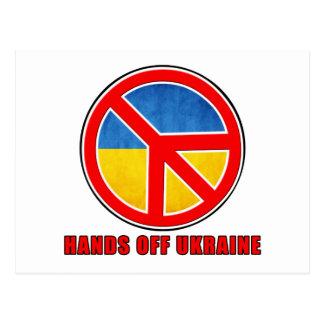 Manos de Ucrania Postales