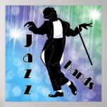 Manos del jazz poster