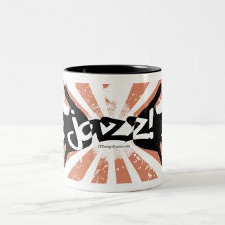 Manos del jazz - taza