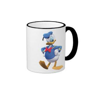 Manos del pato Donald el | en caderas Taza De Dos Colores
