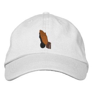 Manos del rezo - gorra gorras de béisbol bordadas