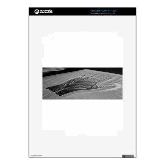 Manos del sino iPad 2 skin