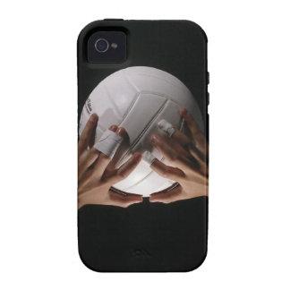 Manos del voleibol Case-Mate iPhone 4 carcasas