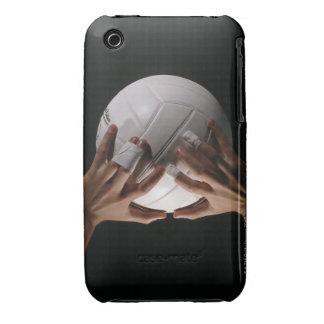 Manos del voleibol funda para iPhone 3