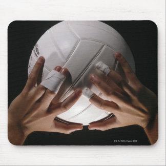 Manos del voleibol tapetes de ratón