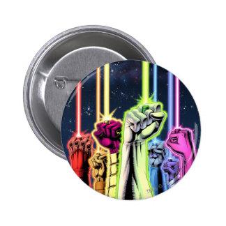 Manos en el aire con los anillos - color pin