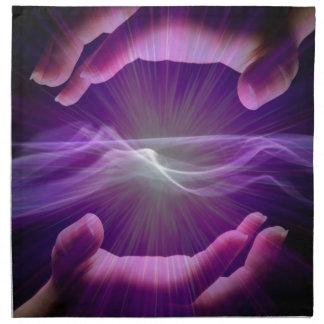 manos mágicas servilletas