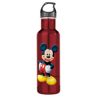 Manos modernas de Mickey el | en caderas