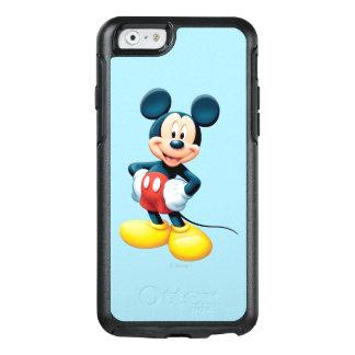Manos modernas de Mickey el   en caderas Funda Otterbox Para iPhone 6/6s