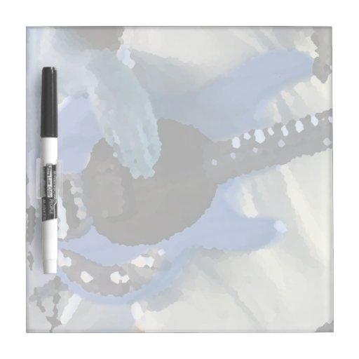 manos painterly del bajo de secuencia del azul cua pizarra