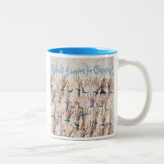 Manos para la taza de café de Cammy