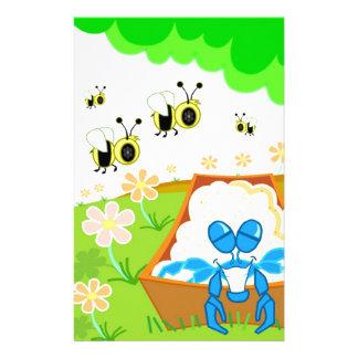 Manosee el parque de la abeja papelería de diseño