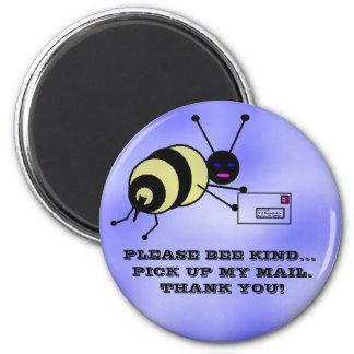 Manosee el portador de la abeja imanes para frigoríficos