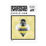 Manosee el sello del ejemplo de la abeja