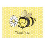 Manosee la abeja con la margarita le agradecen pos