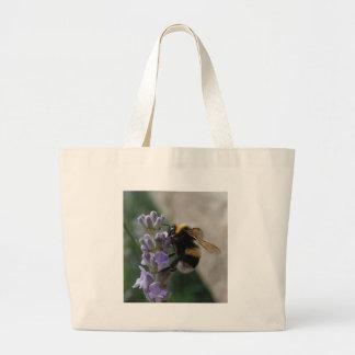 Manosee la abeja en Valender Bolsa Tela Grande