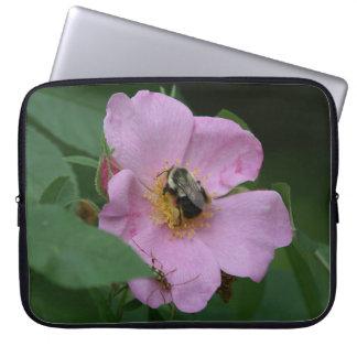 Manosee la abeja, manga del ordenador portátil funda portátil