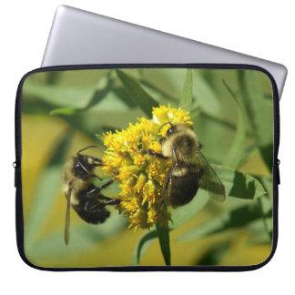 Manosee la abeja, manga del ordenador portátil fundas computadoras