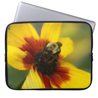 Manosee la abeja, manga del ordenador portátil fundas portátiles