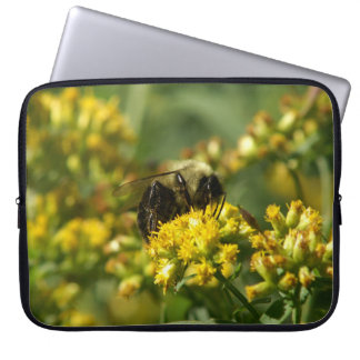 Manosee la abeja, manga del ordenador portátil manga portátil
