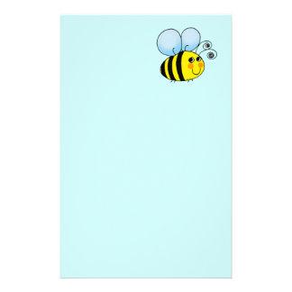 Manosee la abeja papelería de diseño