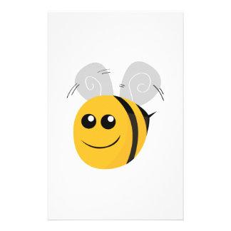 Manosee la abeja papelería personalizada
