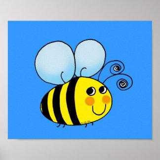 Manosee la abeja póster