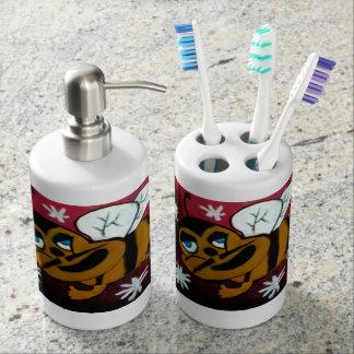 Manosee la abeja set de baño