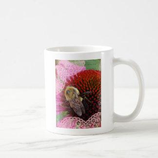 Manosee la abeja taza de café
