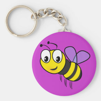 Manosee la abeja, zumbido llavero