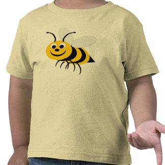 Manosee la camiseta del niño de la abeja