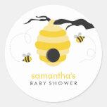 Manosee la fiesta de bienvenida al bebé de las abe pegatina