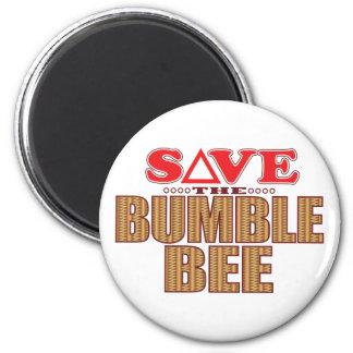 Manosee la reserva de la abeja imán redondo 5 cm