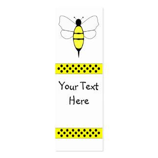 Manosee la señal de la abeja plantillas de tarjetas de visita