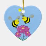 Manosee las abejas en amor - ornamento ornamentos para reyes magos