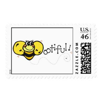 Manosee los sellos de la abeja