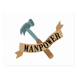 Manpower Postcard