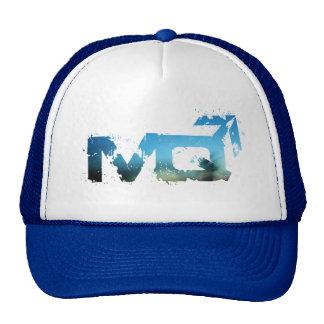 MANQUARTERS DARK BEACH ROYAL BLUE TRUCKER HAT